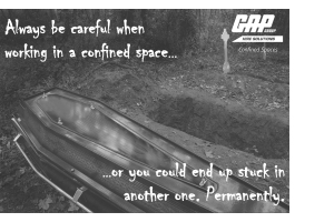 Confined spaces listing