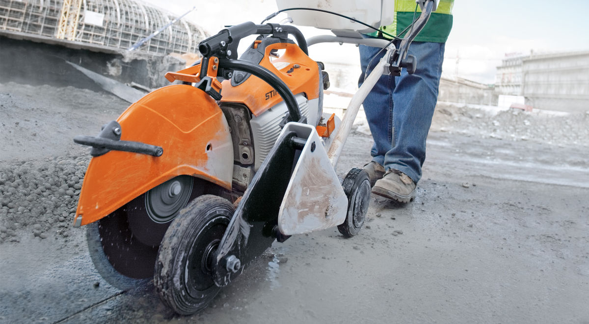 Cut off saw   trolley product feature