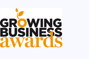 Growing business awards logo listing