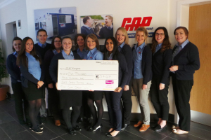 Gap hire solutions raise over %c2%a35000 for clic sargent listing