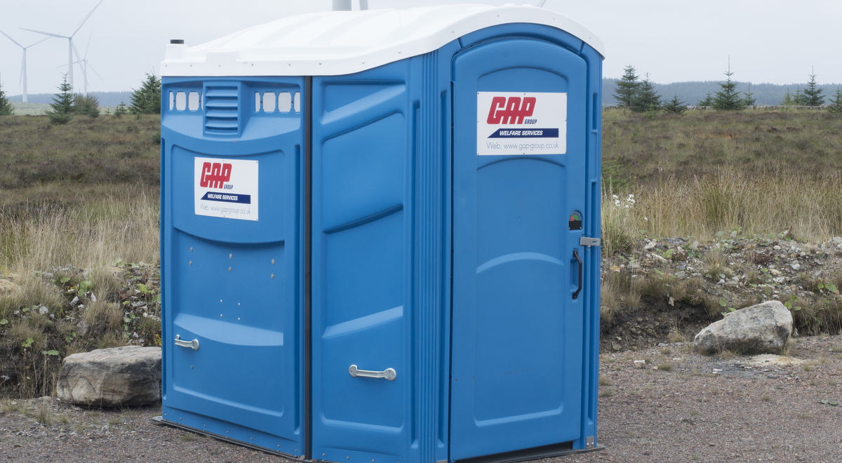 Portable Toilet - Disabled | GAP Hire Solutions | GAP Group