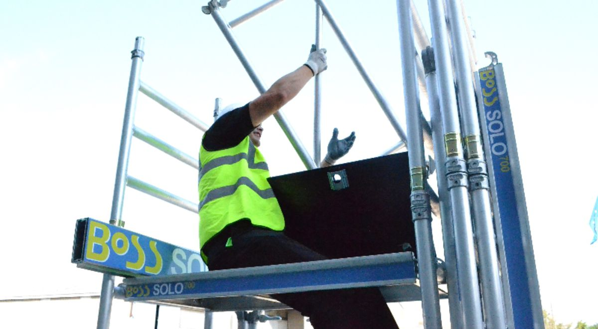 Bs120   boss solo one man tower (4) product feature