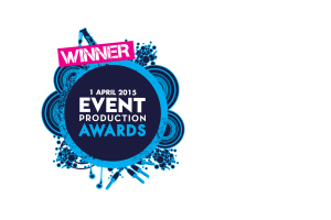 Event production awards winner logo listing