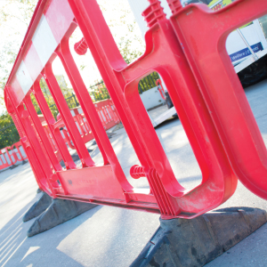Pedestrian barrier product listing