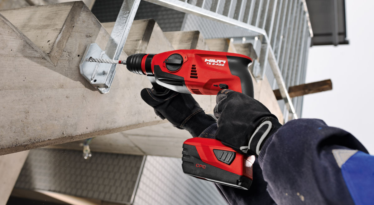 Et084   cordless drill (hilti te 4 a22) product feature