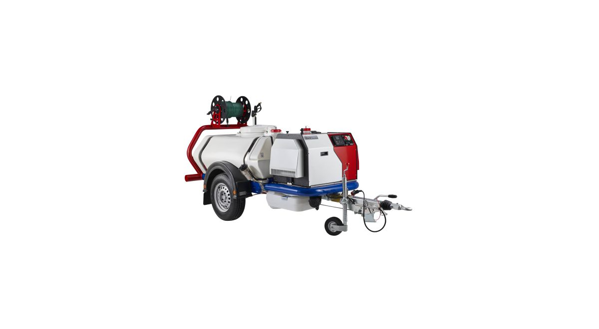 Super silent pressure washer product feature