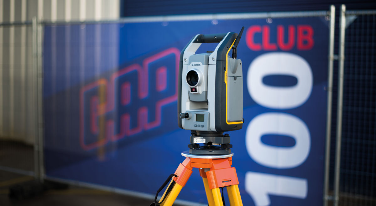 Trimble total station product feature