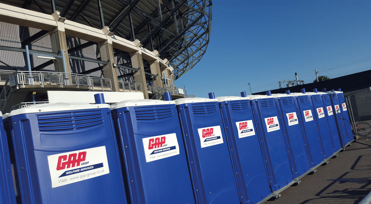 Events toilets onsite product feature