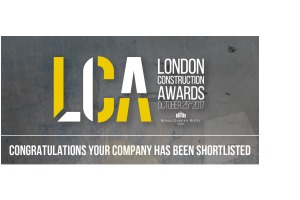 London construction awards shortlisted listing