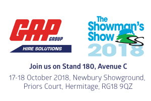 Gap attending the showmans show listing