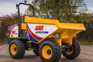 9t gap forward tip dumper listing