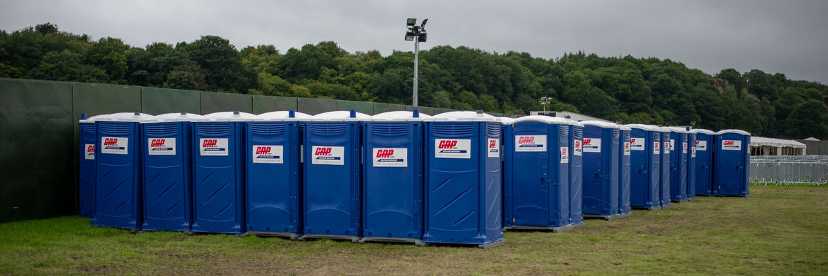 Welfare Units at event