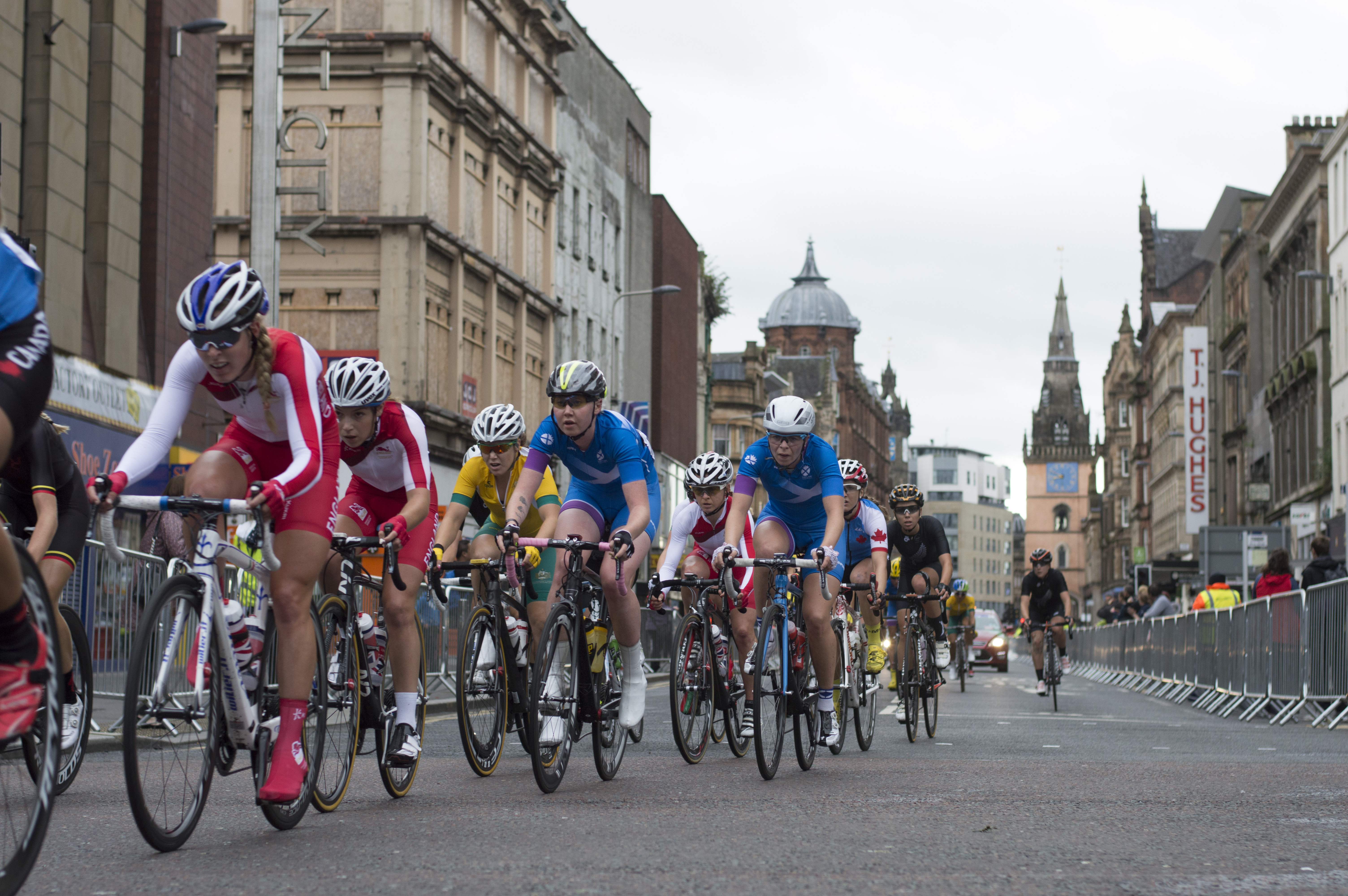 Commonwealth Games 2014 GAP's cyclists