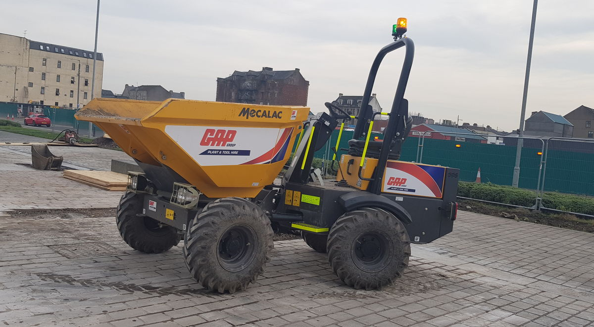 Mecalac ta3s working at the clyde 3 product feature