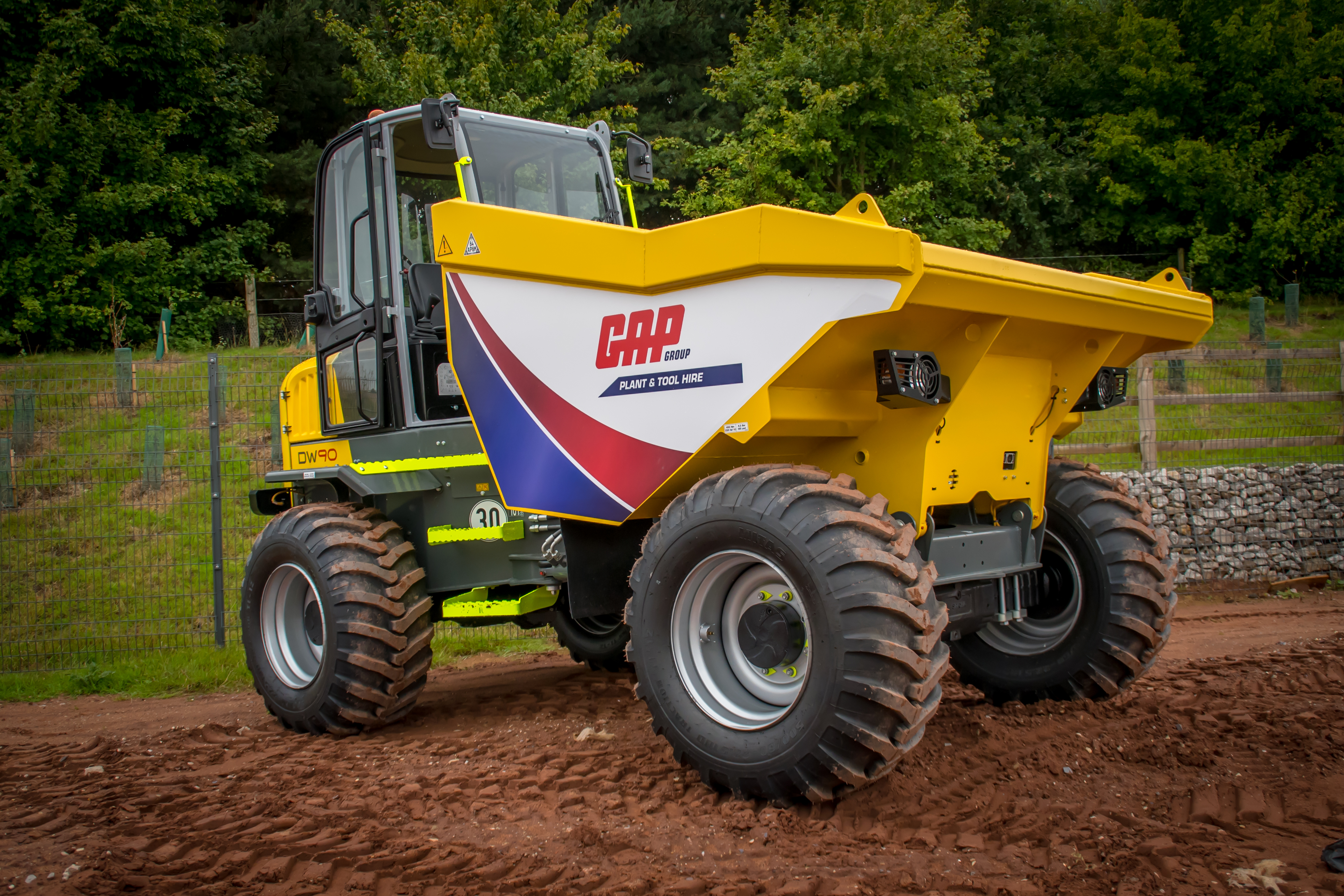 GAP Group 9t Cabbed Dumper Wacker DW90