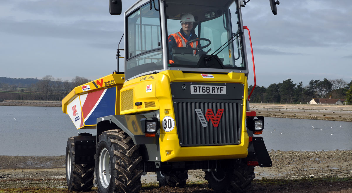 Dual view dumper onsite product feature