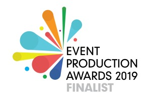 Event production awards finalist logo 2019 listing