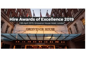 Hire awards of excellence header banner listing