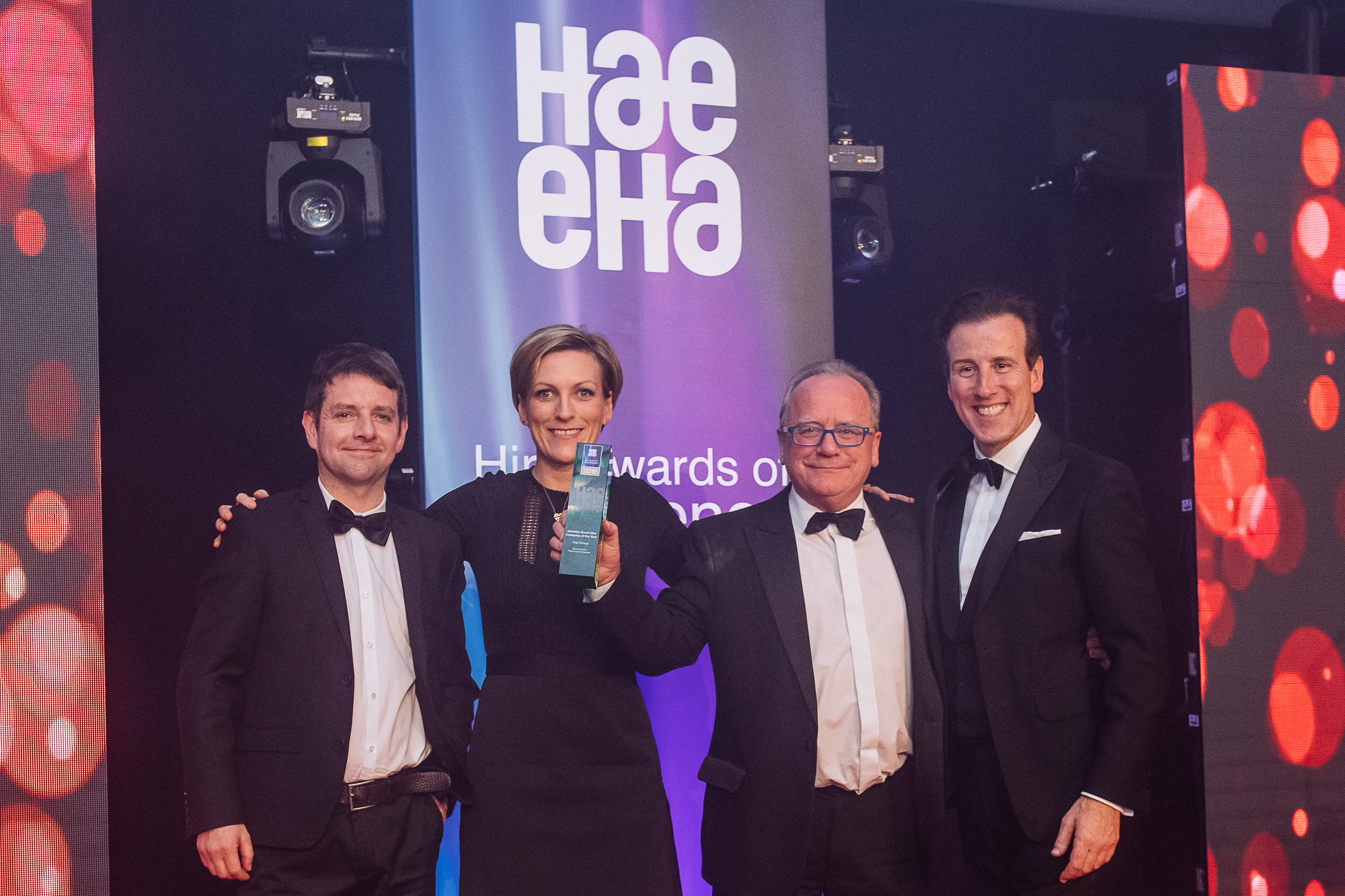 Iain Anderson and Karen Greenshields Events Award HAE 2019