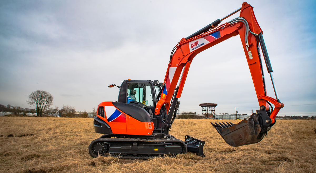 Me180   kubota kx080 4a on site 1 product feature