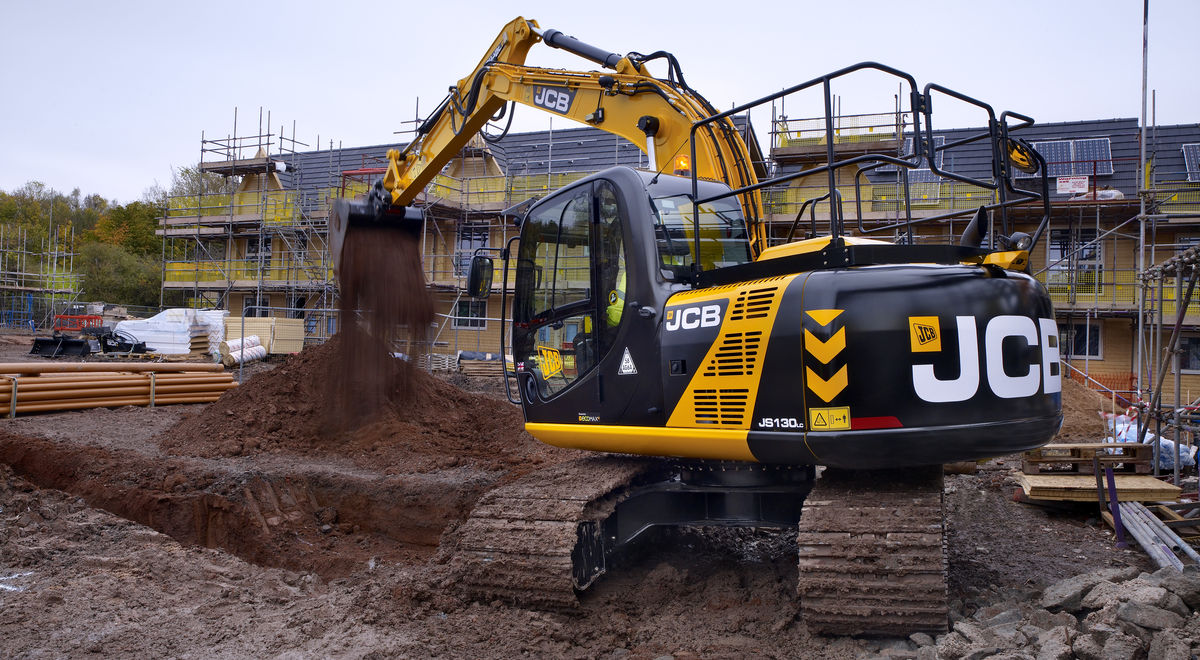 Me075   13t excavator on site (7) product feature