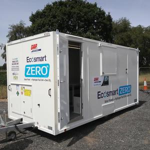 Gap snap   stuart wilcock   one of our ecosmart zero welfare units delivered to our customers compound ready to go on the motorway product listing