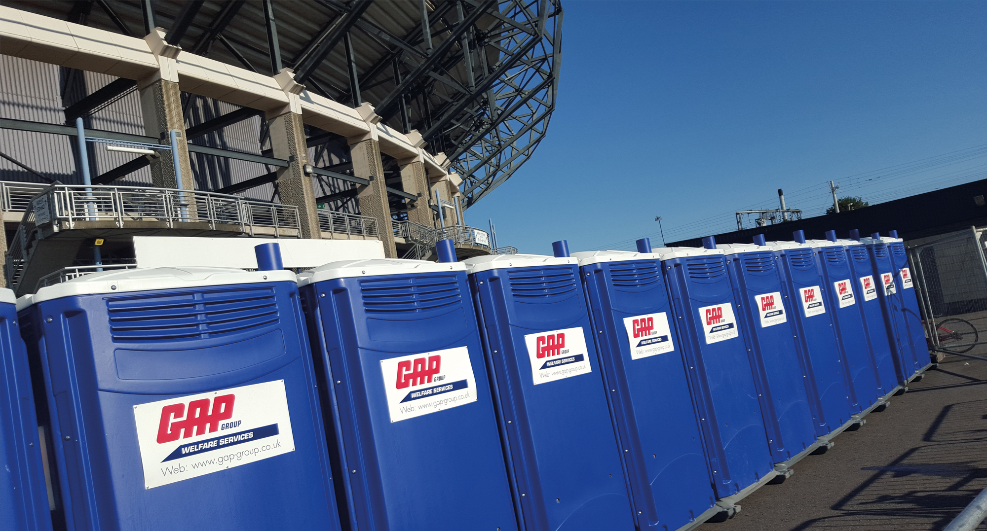 Events toilets onsite